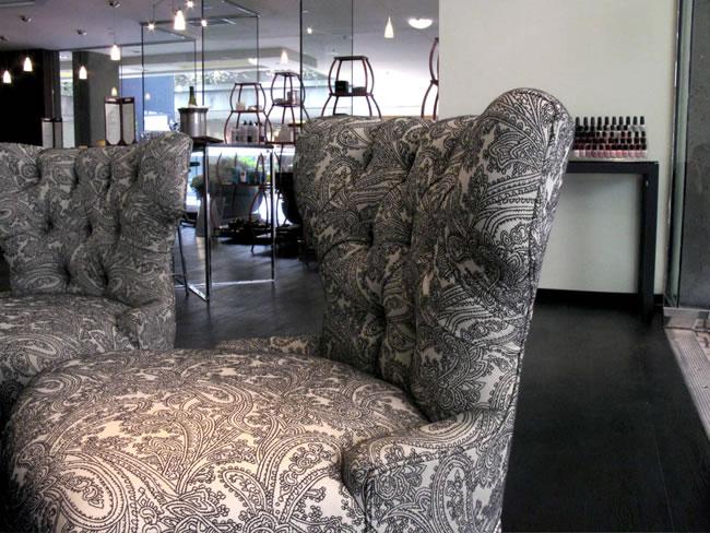 Vanity Beauty Lounge Reception Desk